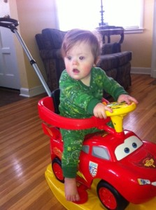 t in his car 1-13