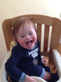 Funny boy in chair 3-13
