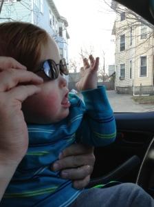T in sunglasses -3-13