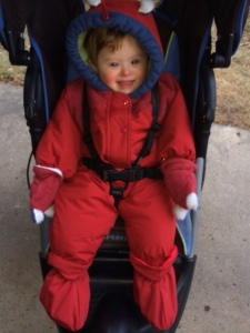 T in snowsuit 12-13