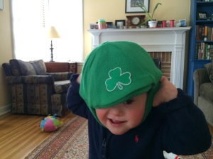 Irish Hat tipped