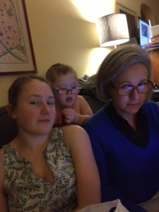 t, c and l watching downton