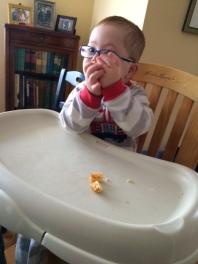 t eating w glasses  3   1-15