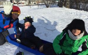 T sledding 3