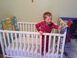 T in crib