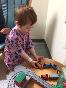 T at hospital
